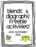 Blends and Diagraphs Games
