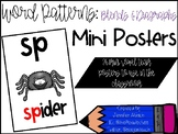 Blends and Diagraphs Mini Posters
