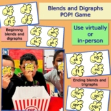 Blends and Digraphs POP! Game