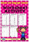 Blends and Diagraphs Worksheets