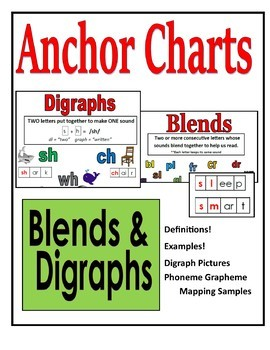 Blends and Digraph Anchor Charts