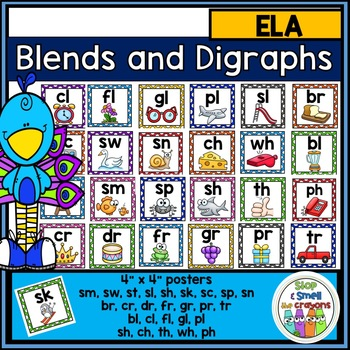 Blends and Digraph Posters