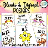 Blends and Digraph Posters with Fun Chants