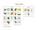 Blends and Digraph Spelling Chart.