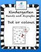 Blends and Digraphs- 3 Activity Pack Kindergarten