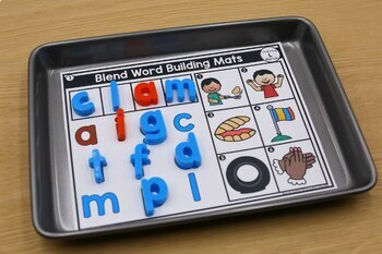 Blends and Digraphs Building Mats
