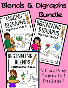 Blends and Digraphs Bundle