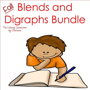 Blends and Digraphs Bundle ELA CCSS RF.2.3; RF.1.3