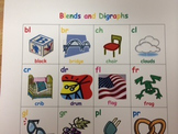 Blends and Digraphs Chart