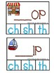 Blends and Digraphs Clip Cards for Phonics (Reading Center)