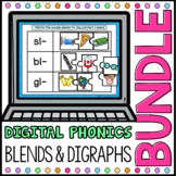 Blends and Digraphs Digital Phonics Word Work BUNDLE Googl