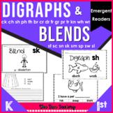 #TreatsforK-1 Blends and Digraphs   Emergent Readers