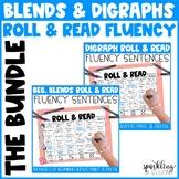 Blends and Digraphs Fluency Roll & Read Sentences