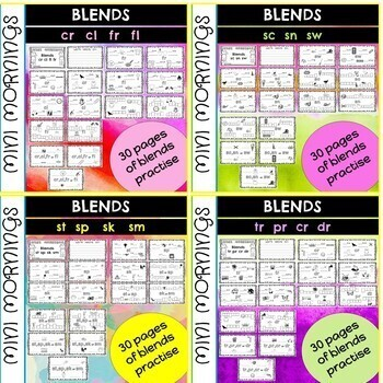 Blends and Digraphs *GROWING BUNDLE*