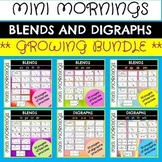 Blends Digraphs and Word Families *GROWING BUNDLE*
