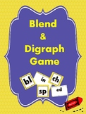 Blends and Digraphs Game