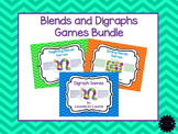 Blends and Digraphs Games BUNDLE