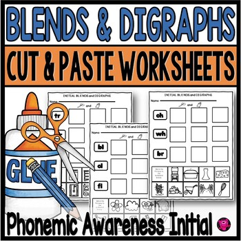 Blends And Digraphs Worksheets By Oink4pigtales Tpt