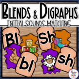 Blends and Digraphs Initial Sound Activity
