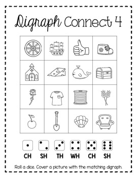 Blends and Digraphs Interactive Phonics Resource Bundle