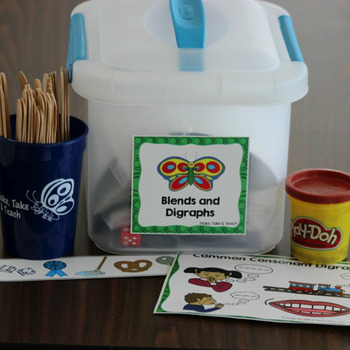 Blends and Digraphs Kit for Parents