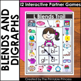 Blends and Digraphs   Literacy Games for Kindergarten