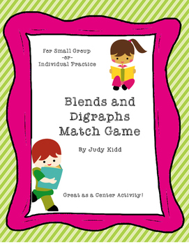 Blends and Digraphs Match Game