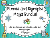 Blends and Digraphs Word Work Activities Bundle