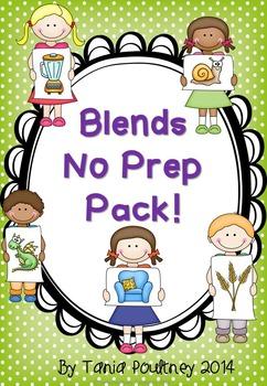 Blends and Digraphs  No Prep Bundle