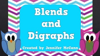 Blends and Digraphs Phonics PowerPoint Review for Emerging Readers