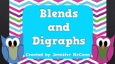 Blends and Digraphs Phonics PowerPoint Review for Emerging