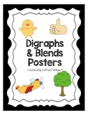 Blends and Digraphs Posters
