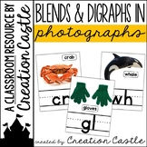 Blends and Digraphs Posters with Real Photos