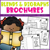 Blends and Digraphs Brochures/Reading Comprehension Passages