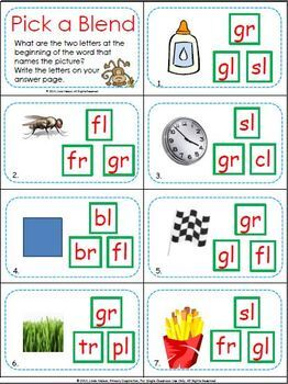 Blends and Digraphs Scoot Bundle
