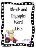 Blends and Digraphs Word Lists
