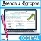 Digital Blends and Digraphs Word Work for Google Slides™