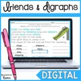 Distance Learning Blends and Digraphs Digital Word Work fo
