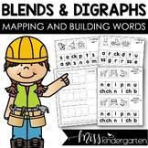 Blends and Digraphs Worksheets