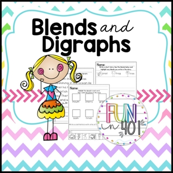 Common Core: Blends and Digraphs for Primary Grades!