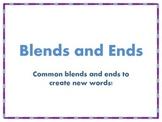 Blends and Ends