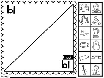 Blends are Fun (Print and Learn Activities)