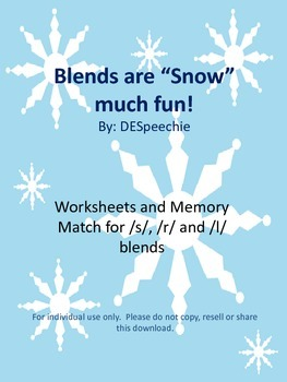 "Blends are ""Snow"" much fun!"