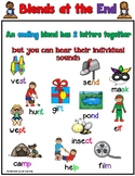 Blends at the End Worksheets Orton Gillingham Spelling