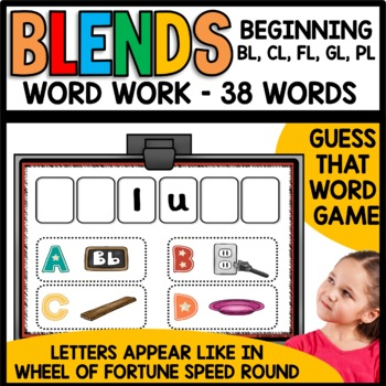Blends (bl, cl, fl, gl, pl)