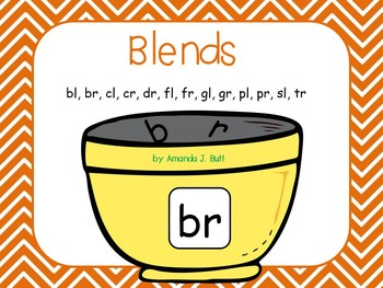 Blends (br; bl; cl; cr; fl; fr; gl; gr; dr; pl; pr; sl; tr