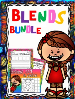 Blends cut and paste bundle
