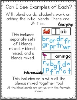Blends Digital Word Work Cards: Phonics for Google Classroom Distance Learning