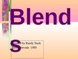 Blends in first grade!