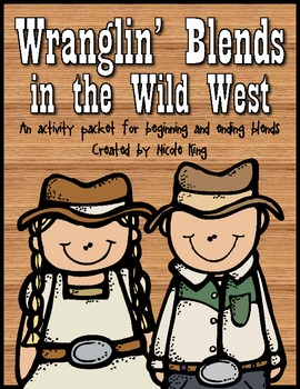 Blends in the Wild West {Decoding Beginning and Ending Blends}